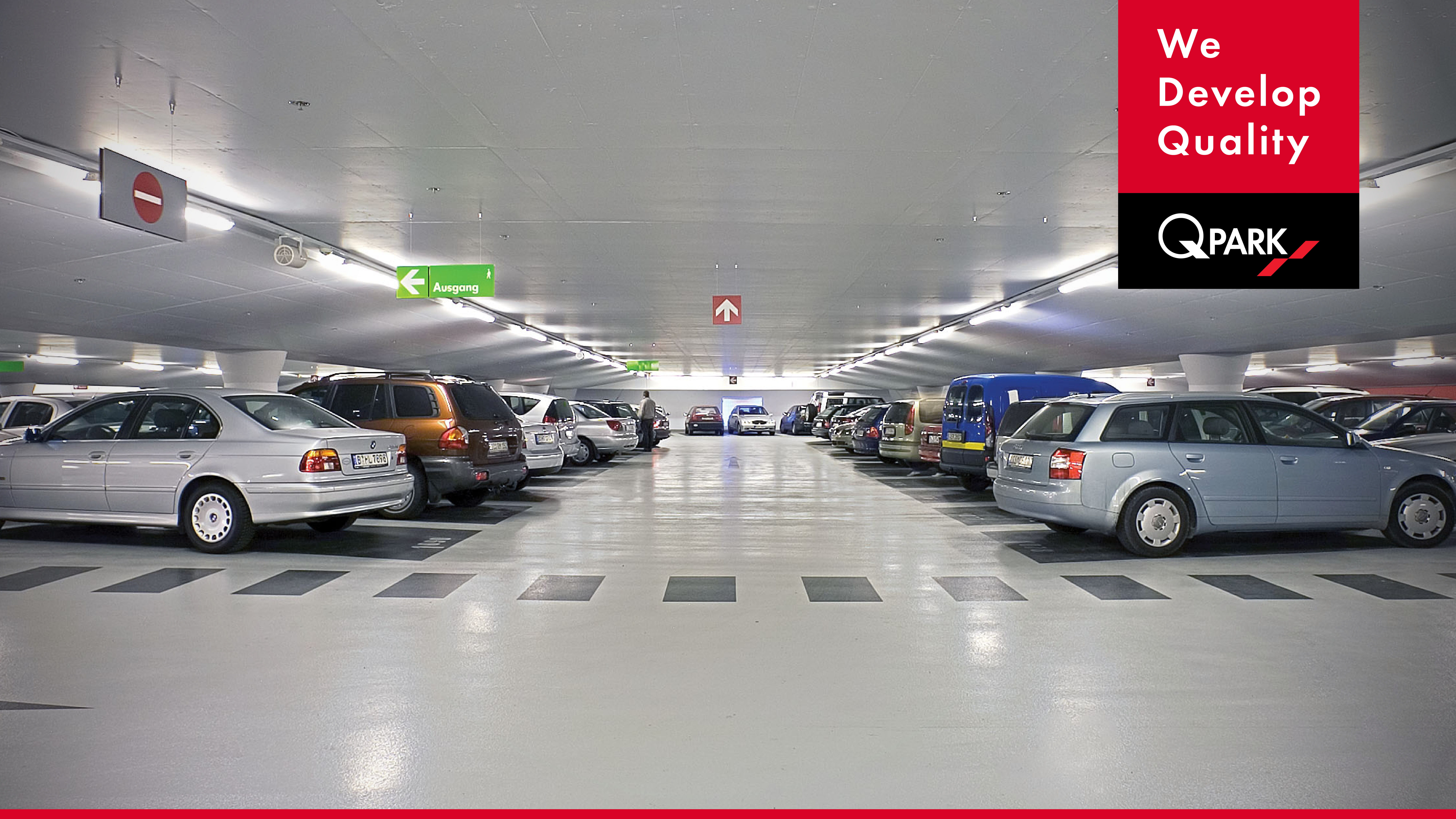 Beleuchtung Parallele Fahrbahnen