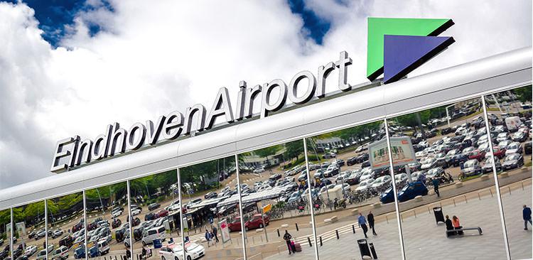 Eindhoven airport banner
