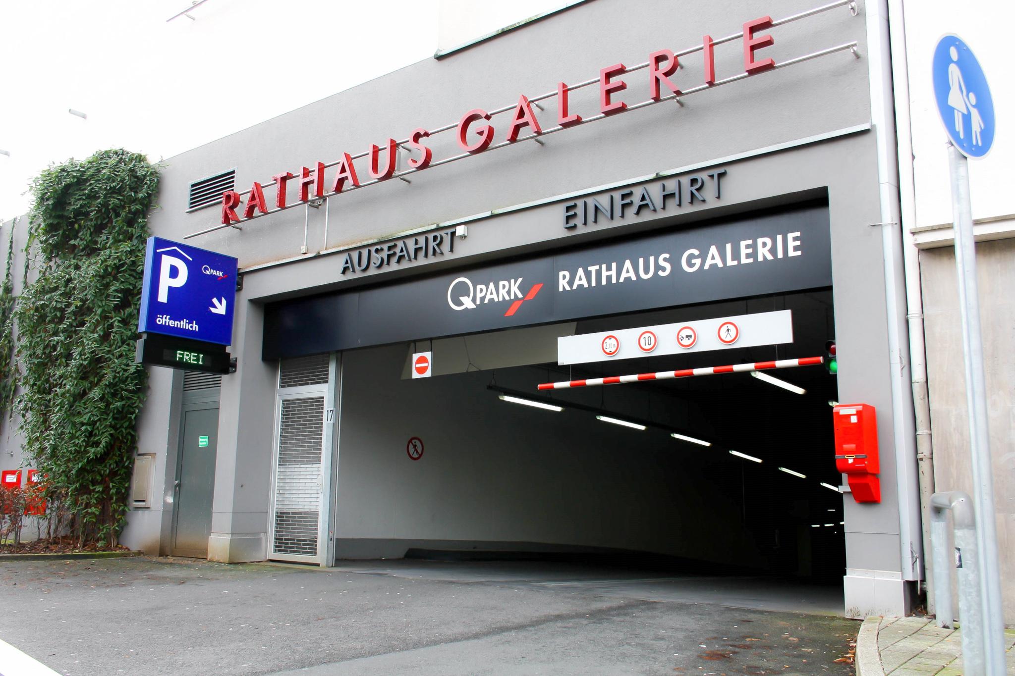 Rathaus Galerie Parkhaus Hagen Q Park