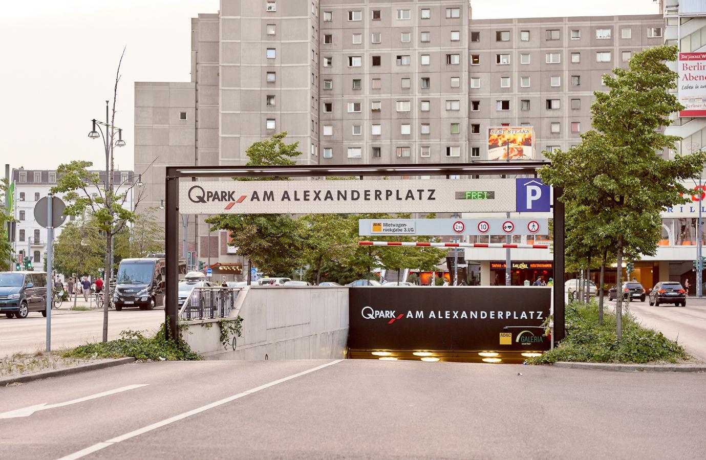 Am Alexanderplatz Parkhaus Berlin Q Park