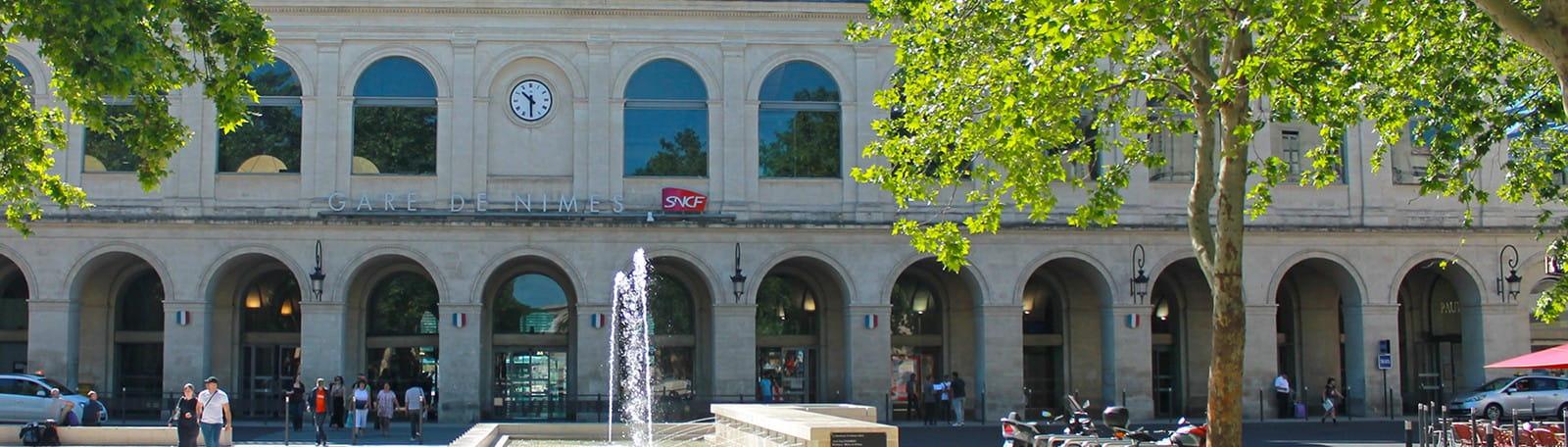 Q-Park Feucheres train station