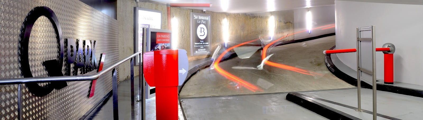 Parking Q-Park Institut Judo - Porte de Versailles