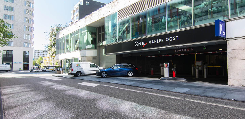 Parkeren Q-Park Mahler