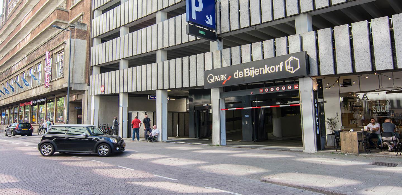 Parkeren Q-Park de Bijenkorf Rotterdam