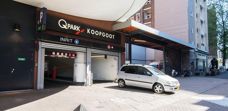 Parkeren Q-Park Koopgoot