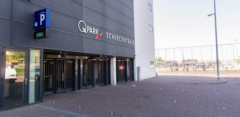 Parkeren Q-Park Schiecentrale