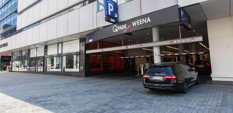 Parkeren Q-Park Weena