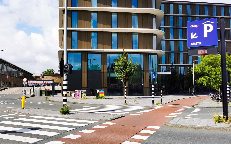 Parkeren Q-Park Amstel