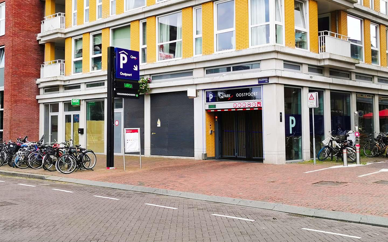 Parking Q-Park Oostpoort