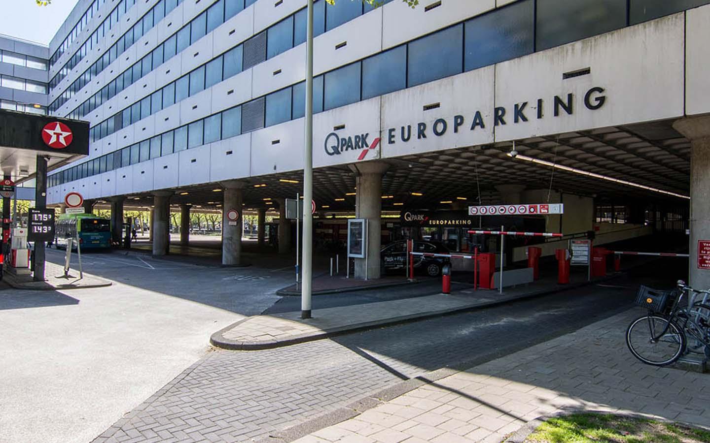 Parkeren Q-Park Europarking