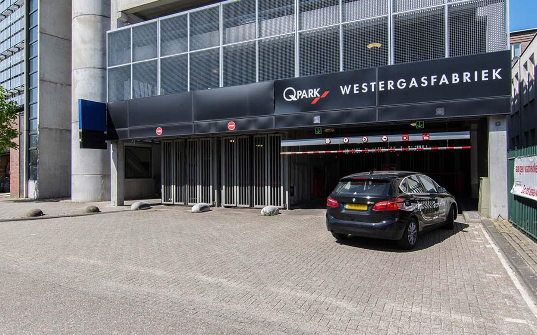 Parkeren Q-Park Westergasfabriek
