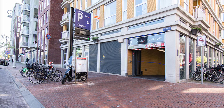 Parkeren Q-Park Oostpoort