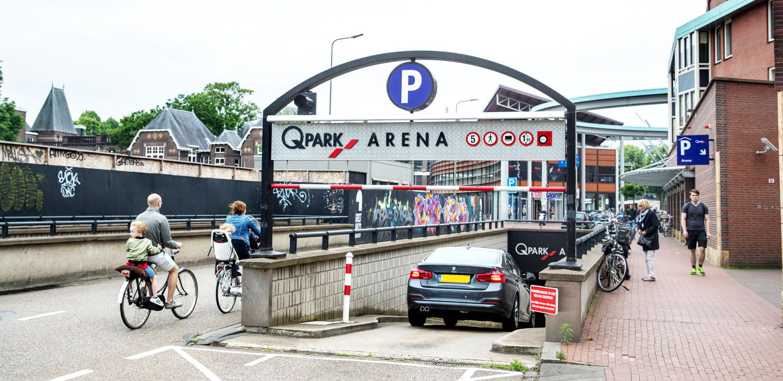 Parkeren Q-Park Arena