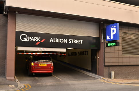 Parking Car Park Leeds Albion Street