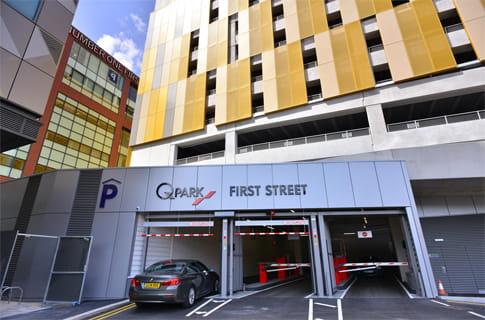 Parking Car Park Manchester First Street