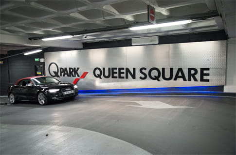 Parking Car Park Liverpool Queen Square