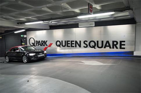 Parking Car Park Liverpool Queen Square
