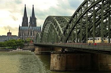 Hohenzollernbrücke Düsseldorf