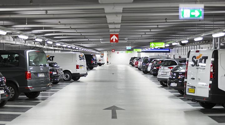 Q-Park parkering Illum