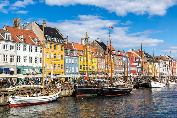 Parker nemt og sikkert i inde København