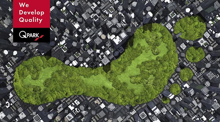 Q-Parks CO2-fodaftryk er 6% mindre