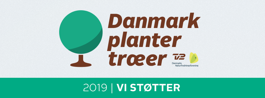 Q-Park støtter Danmark planter træer - 2019