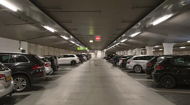 Q-Park LED lys