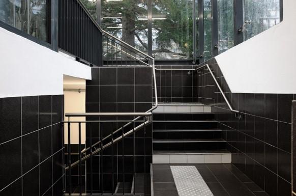Trappeopgang i Q-Park Republique