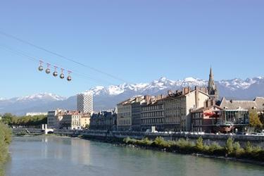 Parking in Grenoble