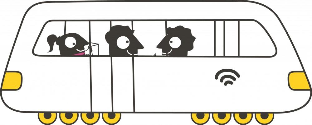 Passer de la voiture aux transports publics