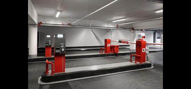 Q-Park République Chartres barrier equipment