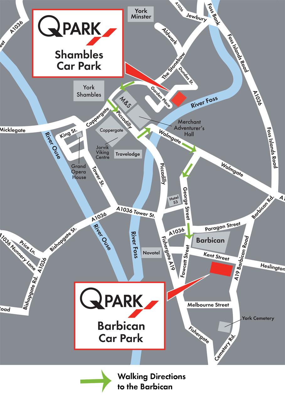 Walking Map Barbican
